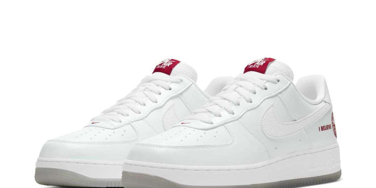"Hot Sale Nike Air Force 1 ""I Believe"" 624040-116 Sneakers"