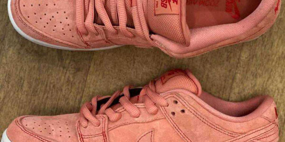 Fashionable Nike SB Dunk Low Pink Pig Will Arrive Early 2021