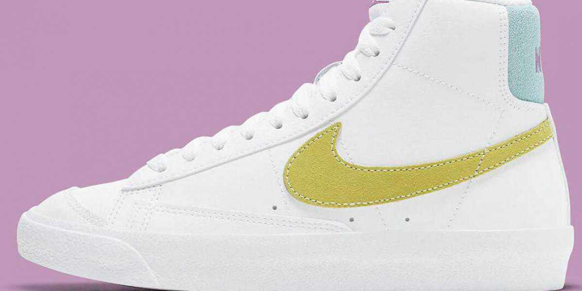 Nike Blazer Mid '77 With A Mix Of Spring Pastels For Kids