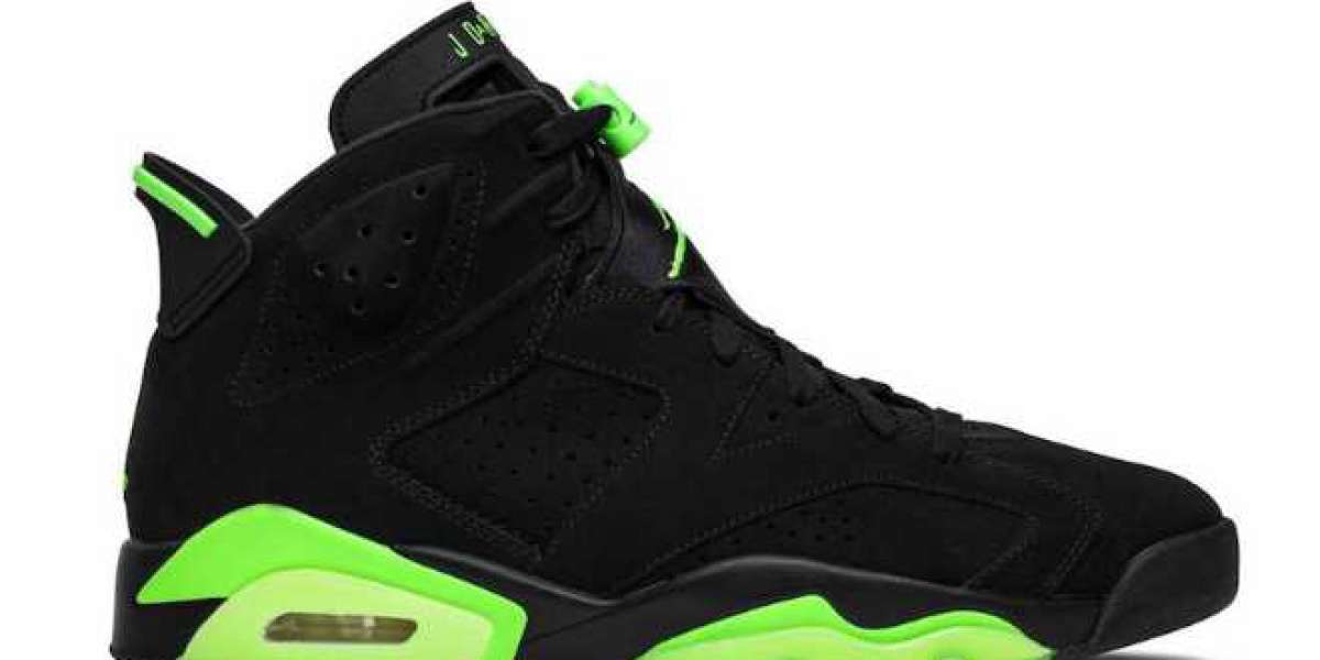 """CT8529-003 Air Jordan 6 """"Electric Green"""" will be officially released on June 5"""