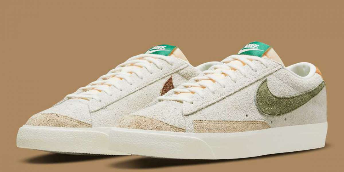 """A Nike Blazer Low """"Ugly Duckling"""" DM7582-100 will land before the end of 2021"""