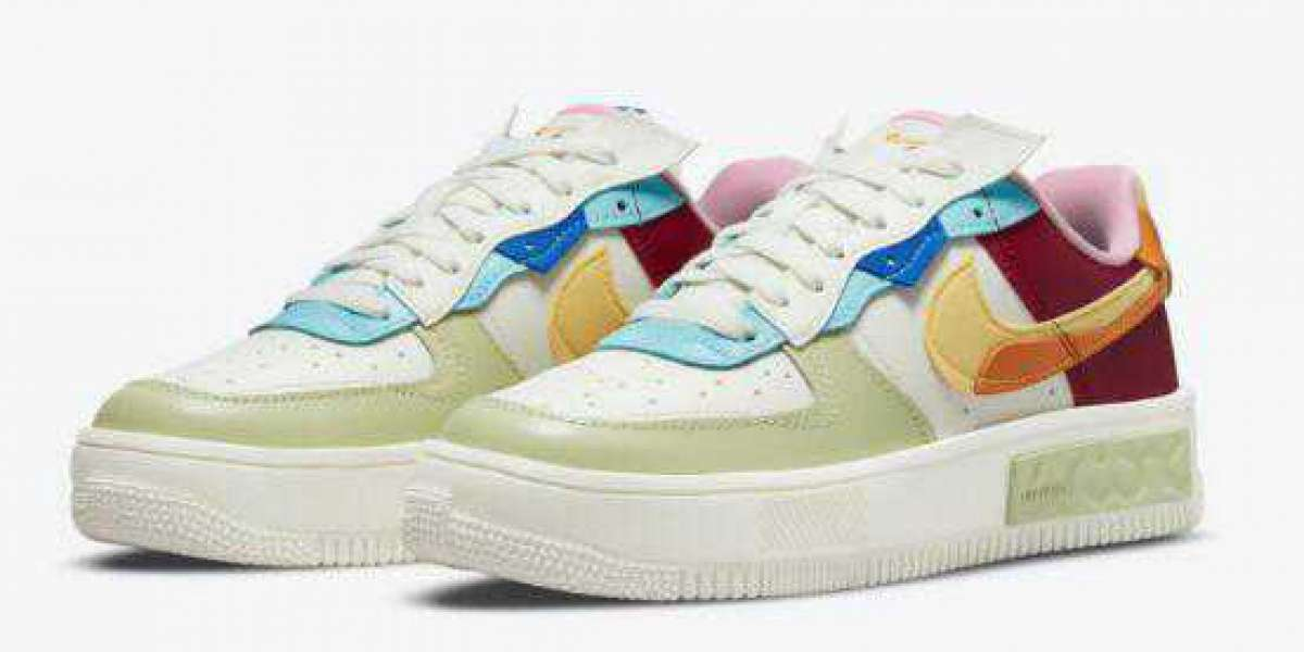 Perfect Multi-Color Nike Air Force 1 Fontanka Unveils For Fall