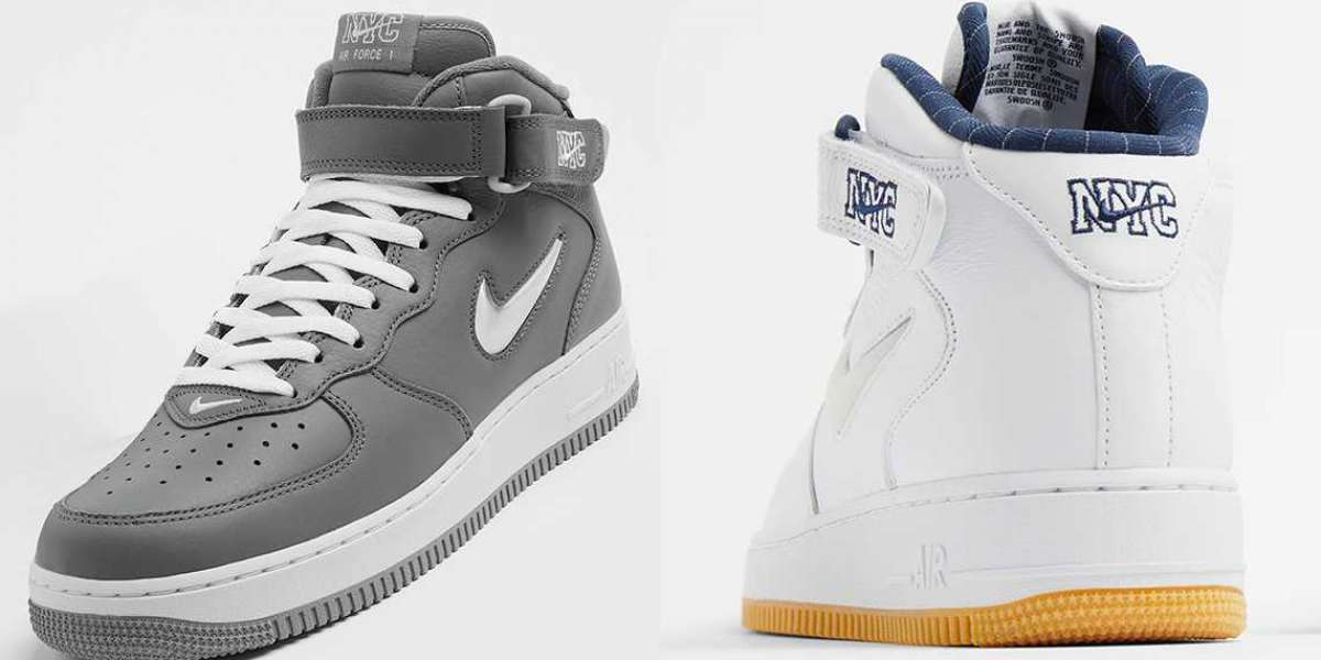 """2021 Latest Nike Air Force 1 Mid """"NYC"""" DH5622-100"""